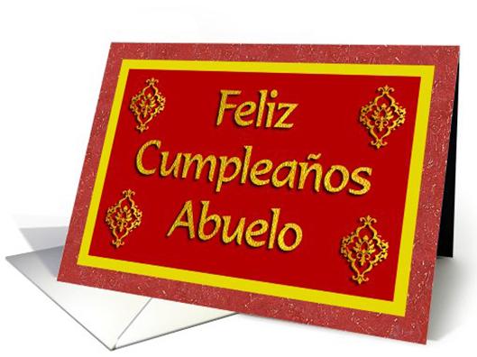 ftarjeta feliz cumpleaños abuelo
