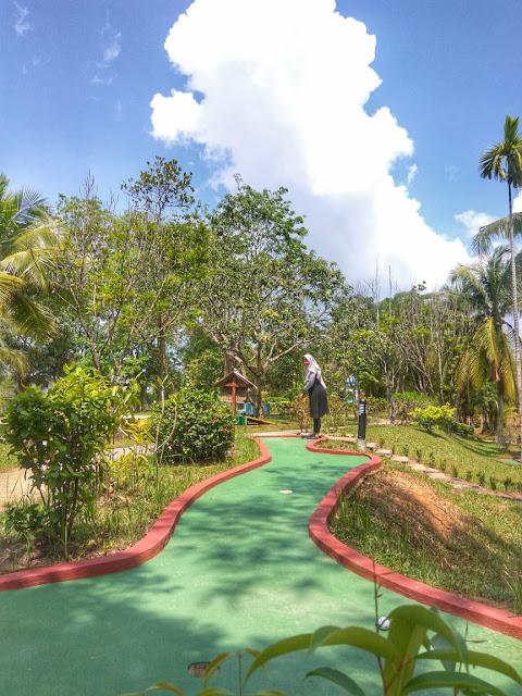 mini golf sijori resort
