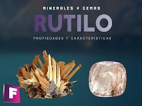Rutilo - Propiedades, características y yacimientos