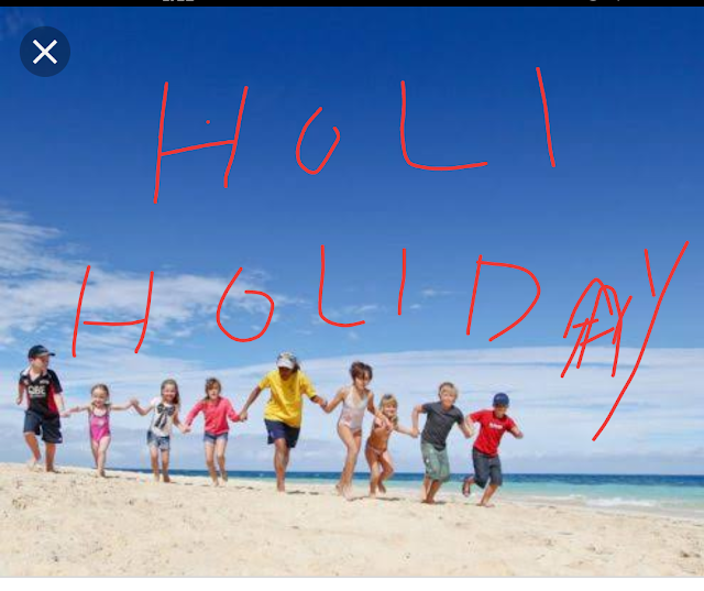 *HOLY  holiday Clarification from CSE*    1. As per the list of holidays issued by the  Govt. 21.03.2019 is an optional Holiday on account of  Hazarath Ali Birthday ( Holi is also falls on this day)