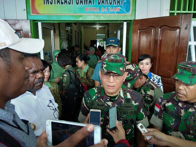George Elnandus Supit Perintahkan 93 Babinsa Sosialisasi Imunisasi di Asmat