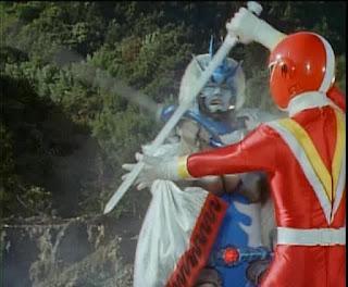 Super sentai fiveman episode 1 : Actress pub crystal palace road