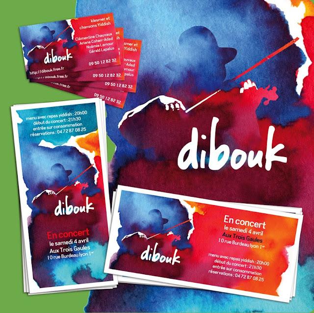 Herve Nallet Graphisme Et Environnement Logo Flyers Affiche Cartes De Visite Pour Dibouk