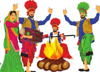 Essay on Lohri in Punjabi