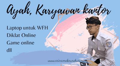 Laptop untuk mendukung WFH