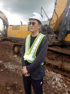 GUINEE : Kindia, le Ministre des Travaux Publics supervise la finalisation des travaux d'aménagement de la déviation de Linsan.1