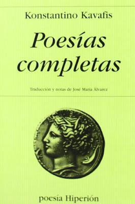 Poesías completas, de Constantino Cavafis
