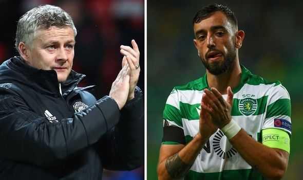 Wow! Man Utd Coach Solskjaer Drops Bruno Fernandes Transfer Hint