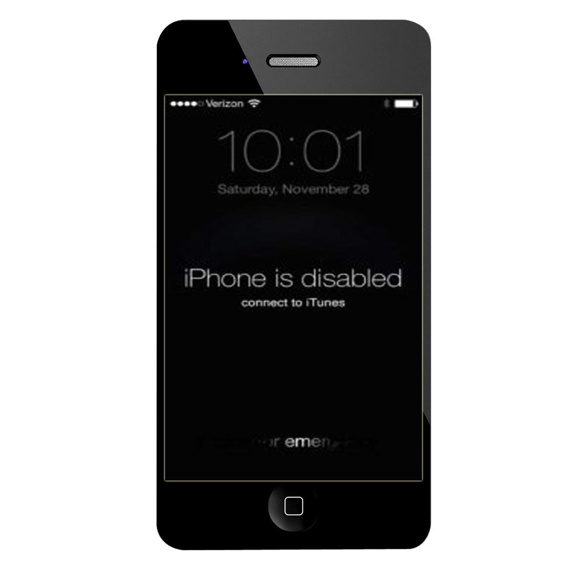 iphone is disabled connect to itunes iphone 5 حل مشكلة iphone is disabled connect to itunes لهاتف iphone 2964