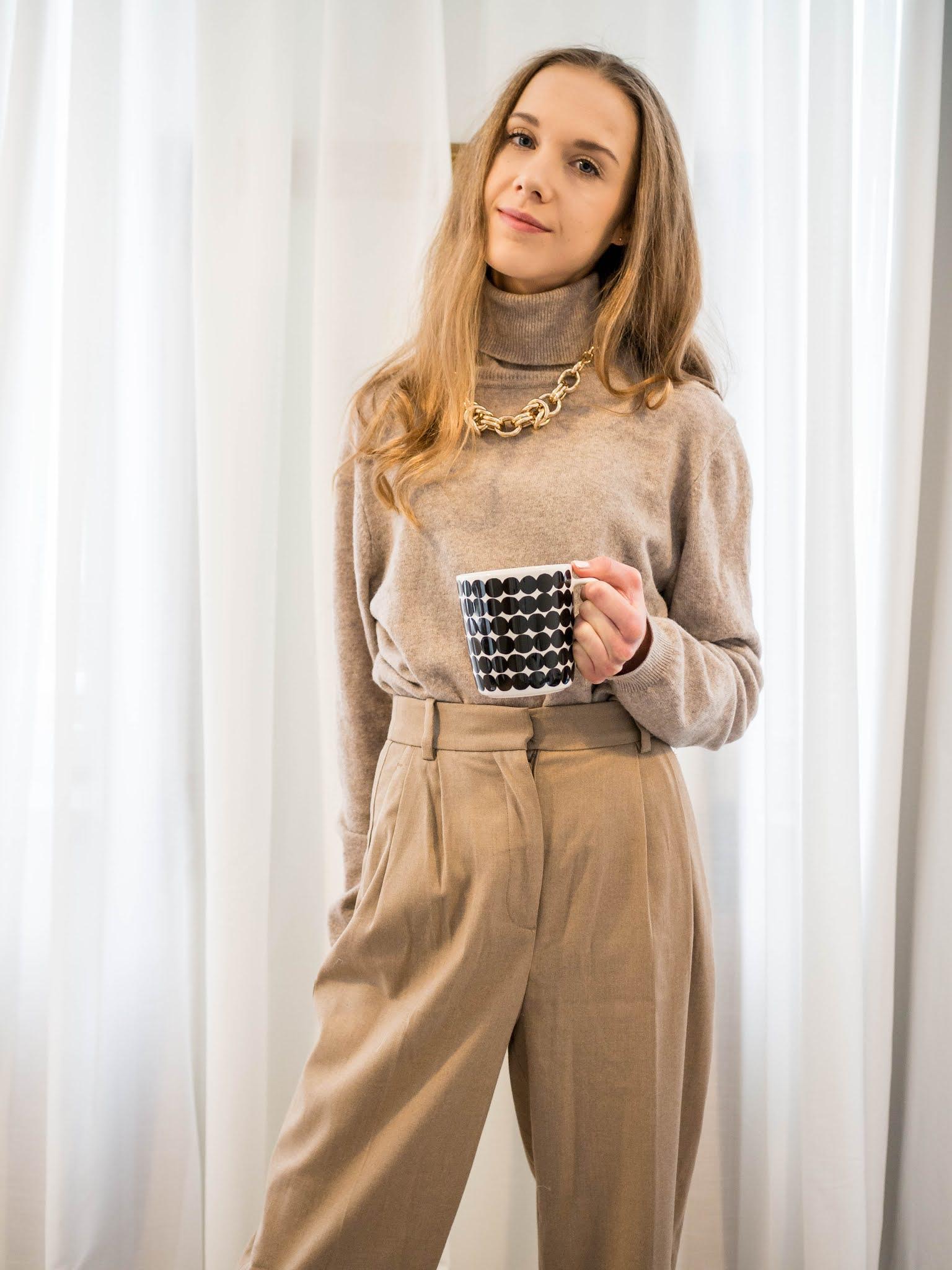 Kuinka pukeutua yhteen väriin // How to dress in one colour