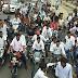 स्वतन्त्रता दिवस के अवसर पर युवाओं ने निकाली विशाल तिरंगा यात्रा