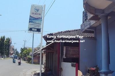 foto plang nama homestay srikandi karimunjawa