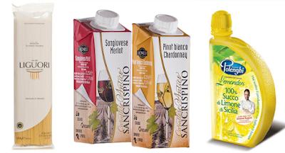 I 3 prodotti contenuti nella degustabox