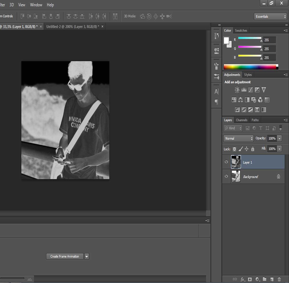 Cara membuat efek pensil pada foto menggunakan photoshop