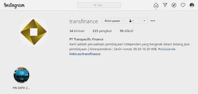 instagram transpacific finance