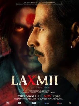 Laxmii 2020 Hindi Full Movies 720 HDRip