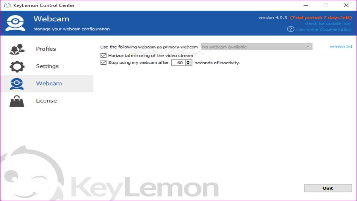 KeyLemon 3.2.3 Free Download for Windows 10, 8, 7