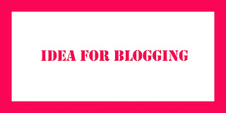 Great idea for a Blogging web site