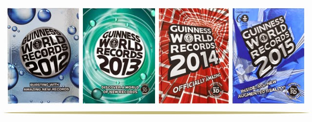 Guinness World Records Book Series for all ages of readers  |  www.9CoolThings.com