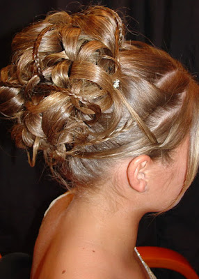 long updo hairstyles step by step