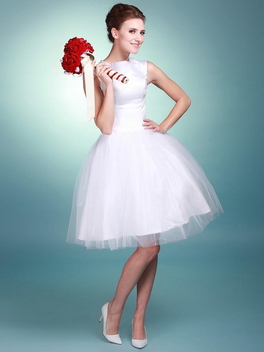 Asombrosos Vestidos cortos de novia | Vestidos | Moda 2018 - 2019