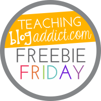 Fern Smith's Classroom Ideas Freebie Friday ~ FREE St. Valentine's Day Fun! One Color For Fun Printable Coloring Page Sample Linked Up at Teaching Blog Addict