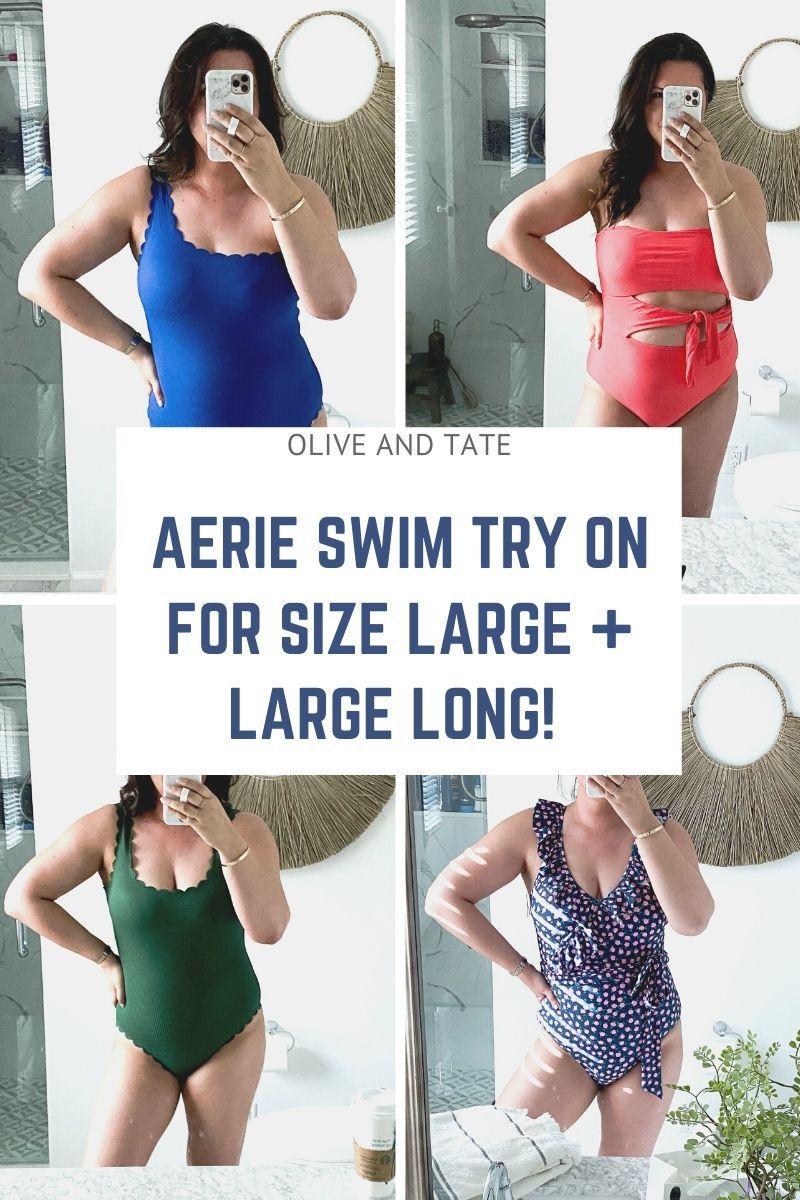 Aerie Swim Try On