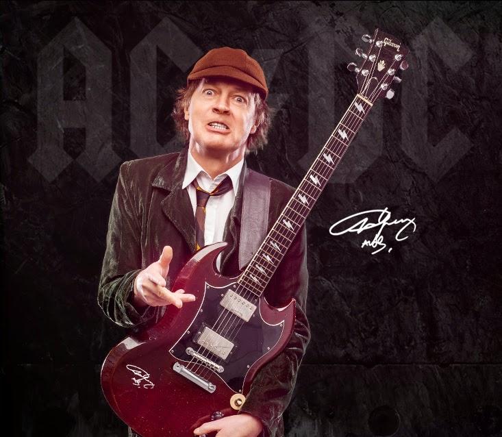 Concurso Cultural Guitarra autografada pelo Angus Young