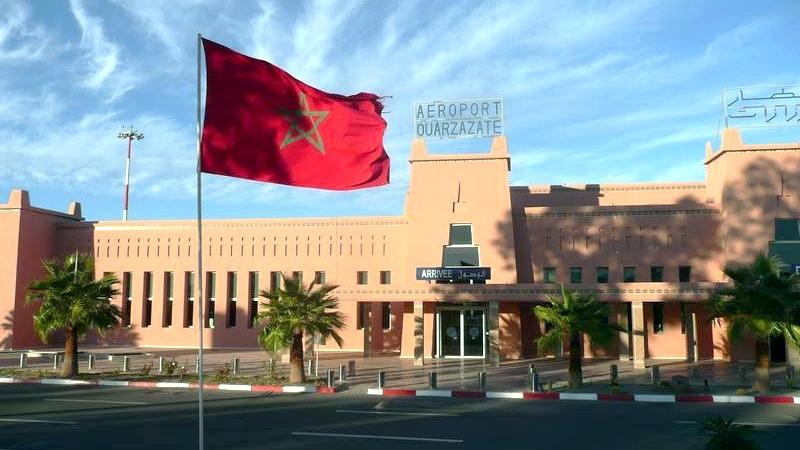 مطار ورزازات Ouarzazate Airport