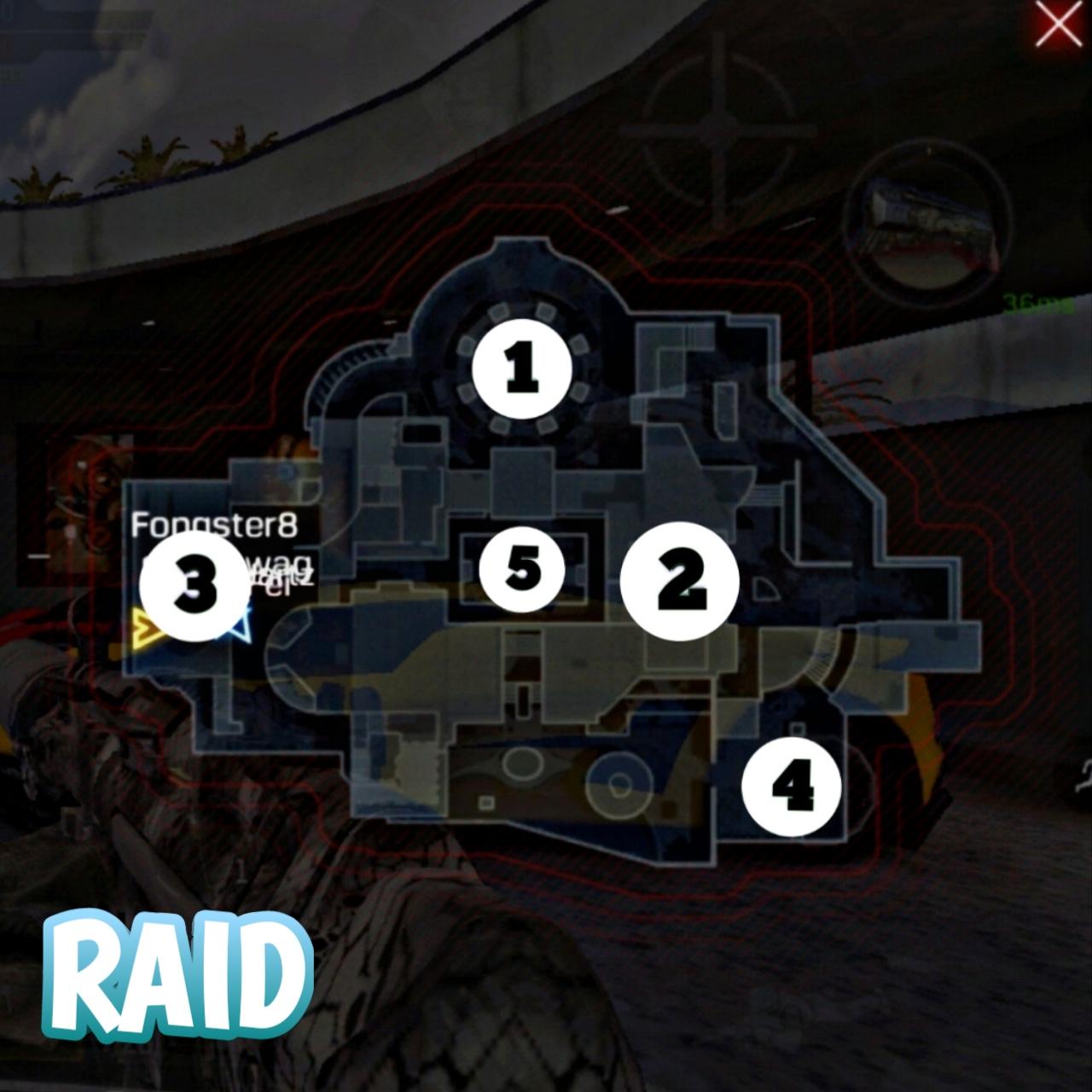 Raid Hardpoint location