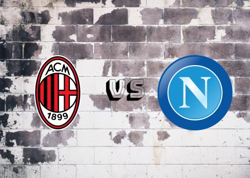 Milan vs Napoli  Resumen