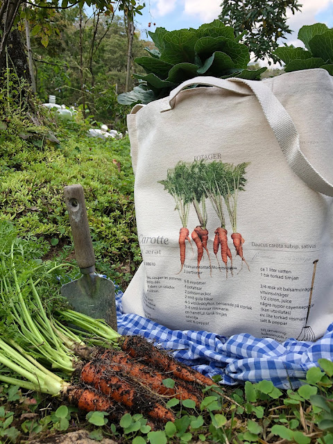 The durable and nice canvas tote bag looks vintage design. Perfect for weekend marche, farmers' markets, and gardening.