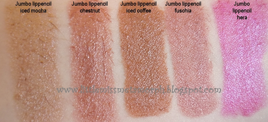 little miss metamorph uk based blog from a self confessed makeup addict nyx jumbo lip pencil review and swatches