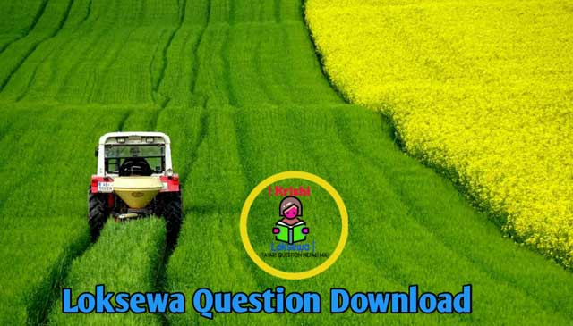 Agriculture Loksewa Aayog Question | Best Question 2020
