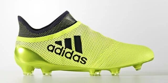 59d96ed6c Sepatu bola Adidas X 17+ Purespeed Ocean Storm merupakan warna ke-3 Adidas  untuk generasi ke-3 Adidas X.