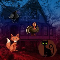 BigEscapeGames - Fantasy Thanksgiving Forest Escape