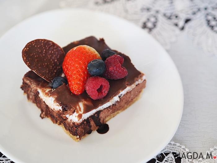 czekoladowo-waniliowa pianka