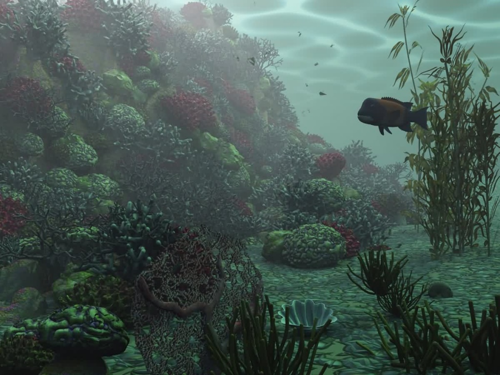 All Desktops Wallpapers 3d Deep Underwater Wallpaper