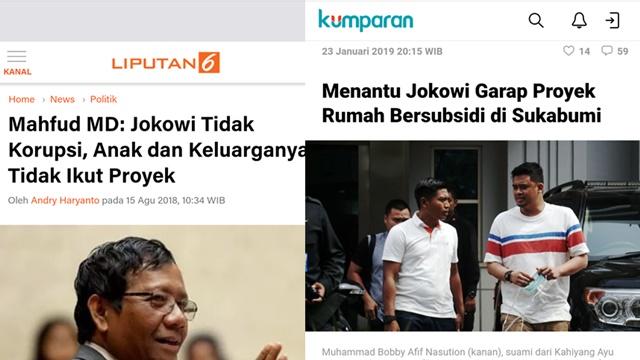 Menantu Jokowi Ikut Garap Proyek Pemerintah, Netizen Teringat Pernyataan Mahfud MD
