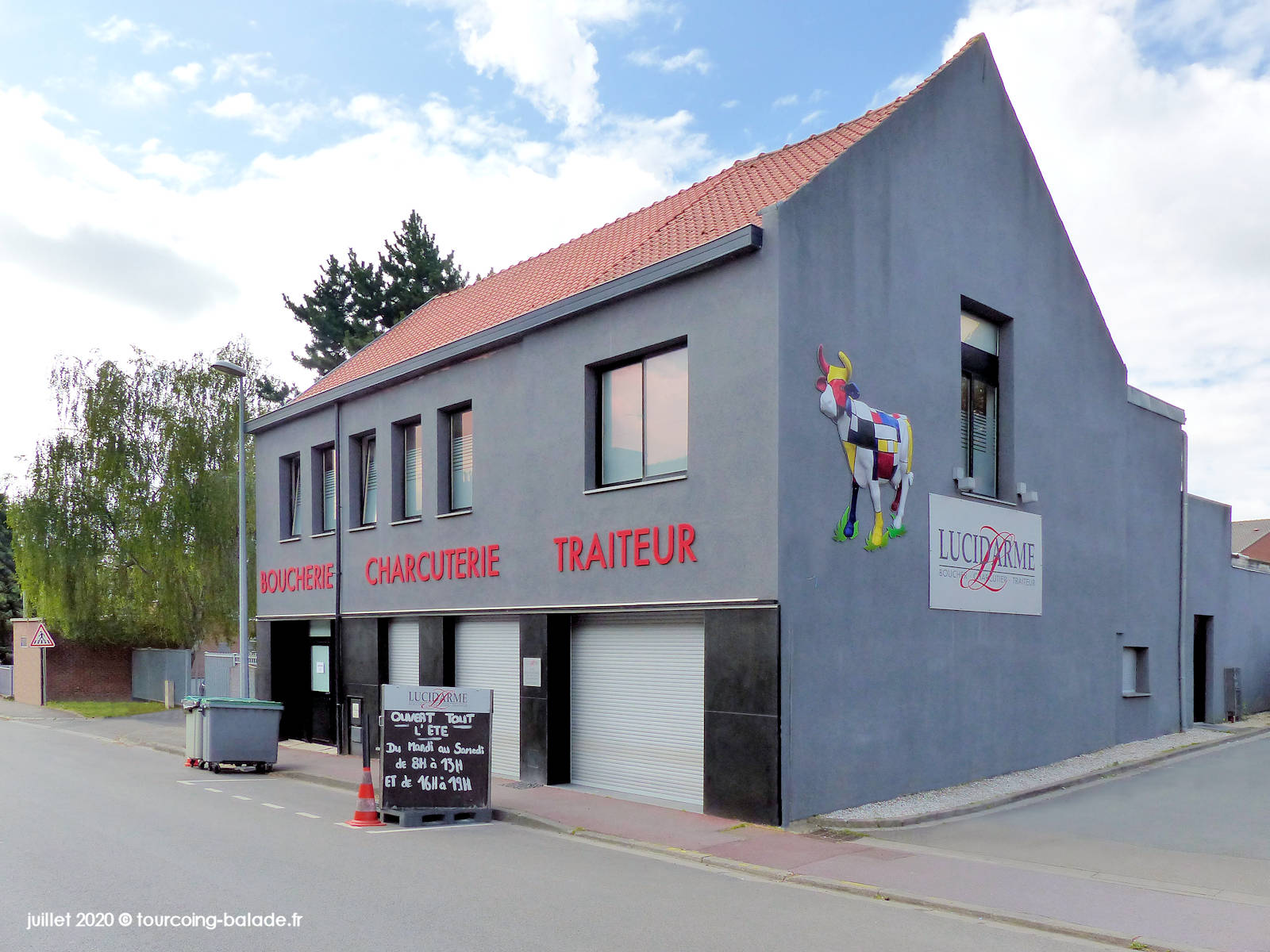 Boucherie Charcuterie Lucidarme Clinquet, Tourcoing 2020