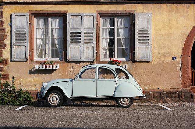 Citroen CV in France