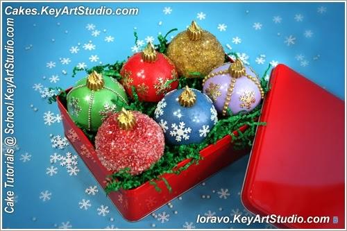 Christmas Ornaments Cupcakes recipes