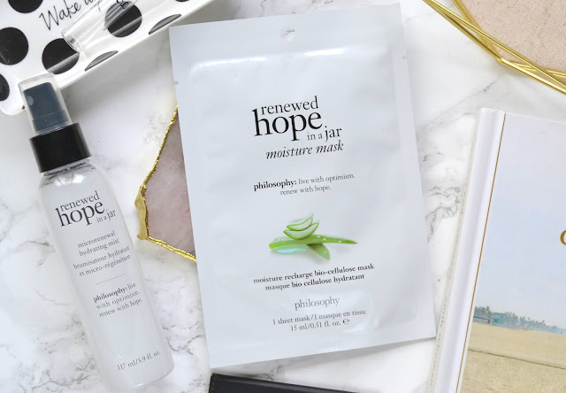 Philosophy Renewed Hope in a Jar Moisture Mask Review