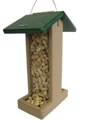 Birds Choice Whole Peanut Blue Jay Feeder