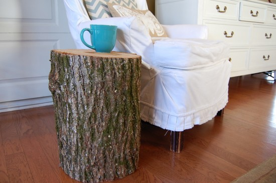 A Work In Progress Tree Stump Table