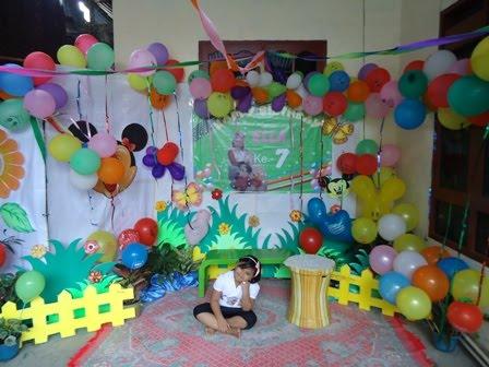 Meiling Wijaya Balon Dekorasi untuk Ultah Pesta Event Promosi