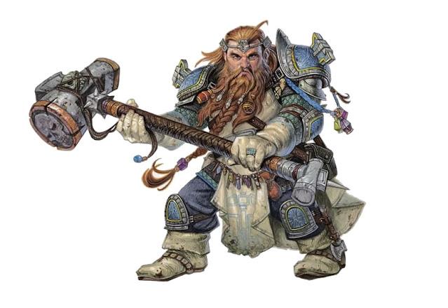 Introducción a las clases de Dungeons & Dragons - El Clérigo - Enano
