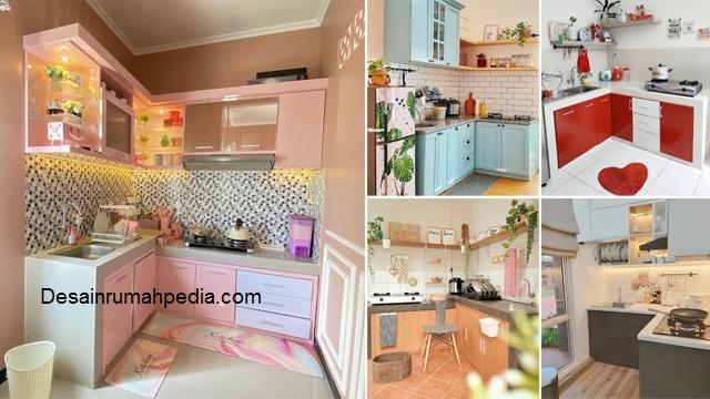 7 Inspirasi Desain Dapur Letter L Yang Bisa Diterapkan Dirumah Kpr Desainrumahpedia Com Inspirasi Desain Rumah Minimalis Modern