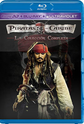 Pirates Of The Caribbean SAGA BDRip HD 1080p Latino