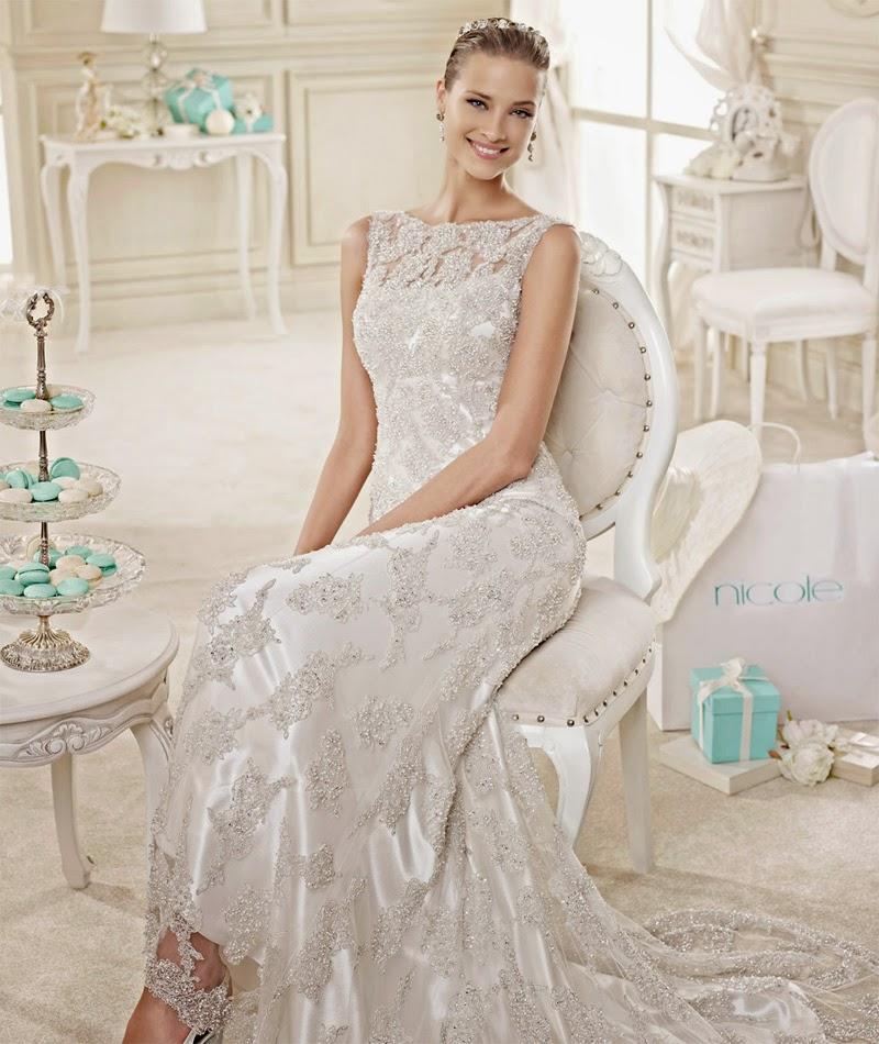 abito da sposa 2015 Nicole Spose stile principesco e matrimoni a tema